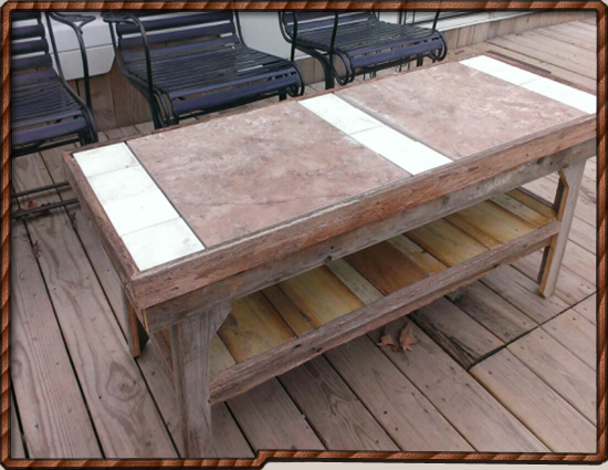 Outdoor Coffee Table - IN STOCK NOW!
