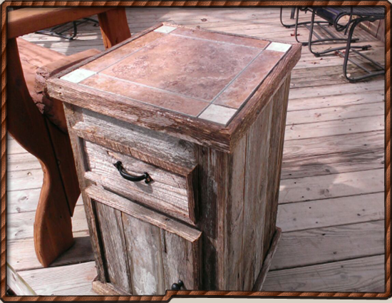 End Table - (2) of these are IN STOCK NOW!