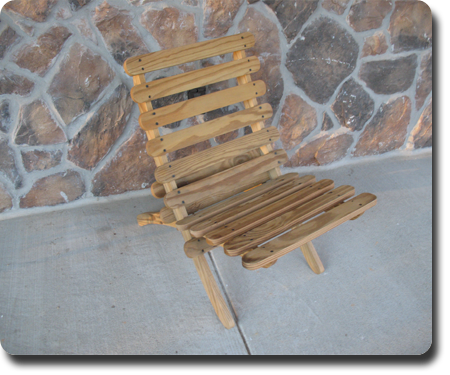 Beach Chair - Wood