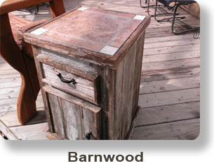 Weathered Barnwood Furniture
